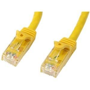 3m Cat6 Gigabit Snagless Patchkabel, StarTech, RJ45 UTP Netzwerkkabel Gelb, FirstEnd 1xRJ-45 Stecker