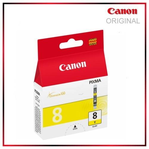 CLI8Y - 0623B001 - Yellow - Original Tintenpatrone f. Canon Pixma