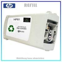 REF81BK - Refilltintenpatrone HP - NR81 - Black für Drucker C4930A DesignJet 5000,5500,5800