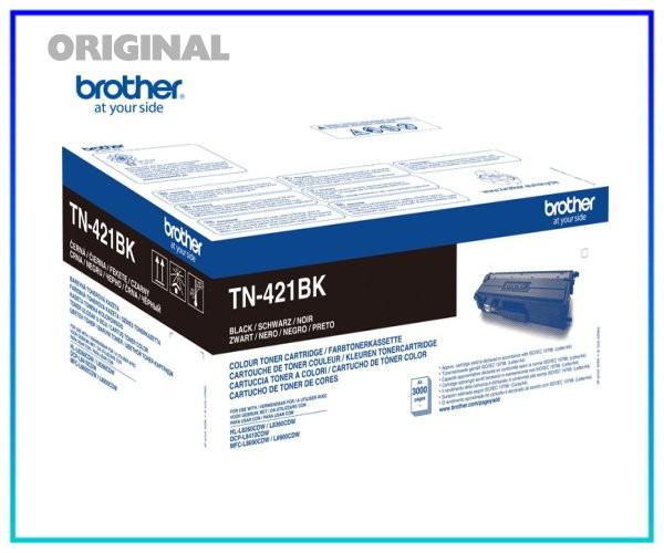 TN-421BK - Original Toner Black (Schwarz) für 3.000 Seiten