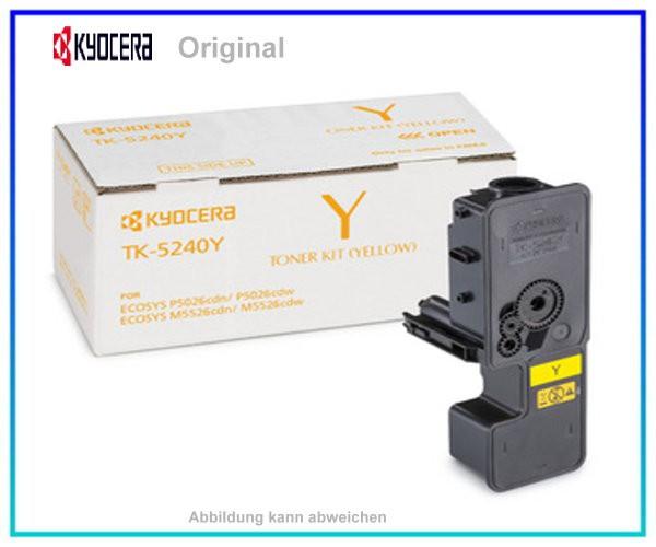 TK5240Y - 1T02R7ANL0 - Original Yellow Toner Kyocera - TK5240Y - 3.000 Seiten