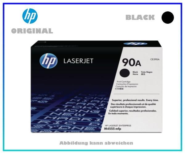 CE390A - Original Tonerkartusche Black für HP LJM4555, CE390A, NR 90A, Inhalt 10.000 Seiten.