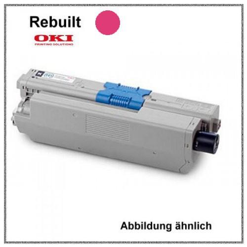 TONC310M - Alternativ Toner Magenta - C310M - für Oki C310 - C330 - C331 - C510 - C511 - C530 - C531
