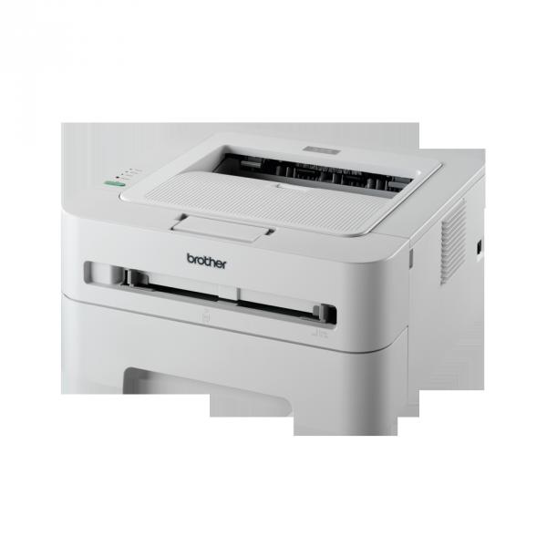 Brother HL-2130, Mono Laserdrucker (A4 - 2400x600dpi), Laserdrucker von Brother für Officebereich.