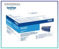 TN-421C Original Toner Cyan für Brother HL8260CD - TN421C - Inhalt 1.800 Seiten