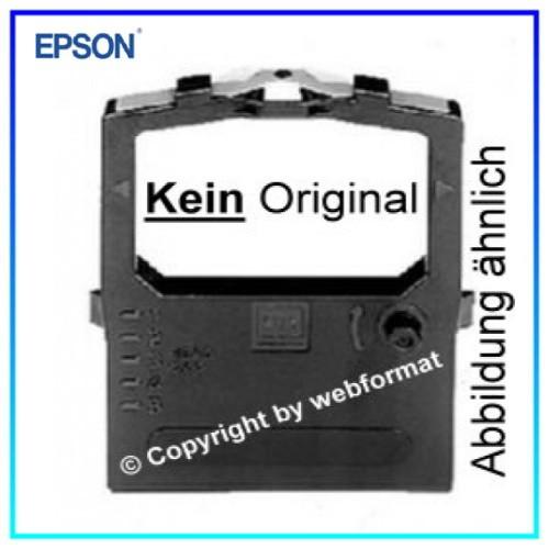 Neutrales Farbband Gr. 642 -Farbband Nylon Black fuer Epson LQ 67 - LQ 67 Pro - LQ 680 - LQ 680 Plus