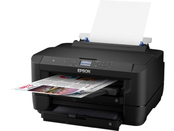 EPSON WF7210DTW - Tintenstrahldrucker, C11CG38402. DINA3, WLAN, LAN, Farbdrucker
