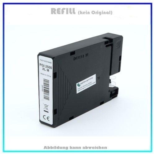 Bulk PGI2500XLM Alternativ Tinte Magenta für Canon, 9266B001 - Inhalt: M=20,4ml.