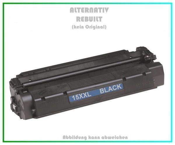 TON15XXL Alterntiv Tonerkartusche Black für HP - C7115X, Canon, HP, Troy, Inhalt 8.400 Seiten