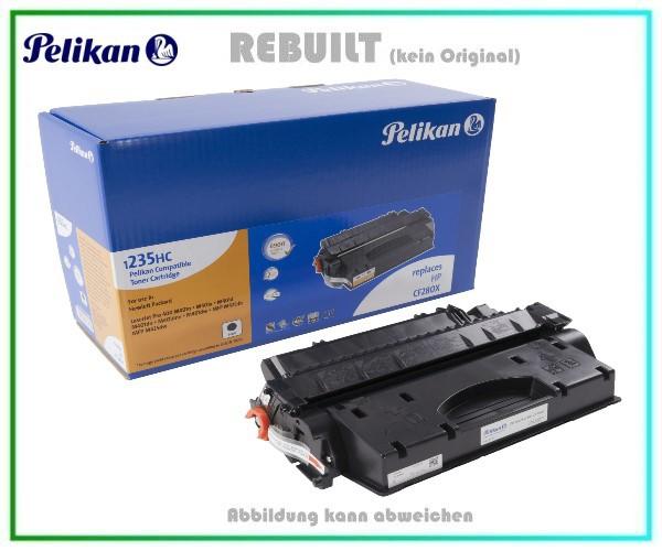 TONPELCF280X Pelikan Toner Black für HP - CF280X - 80X - Inhalt 6.900 Seiten