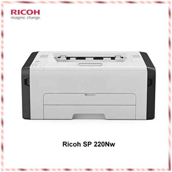 Ricoh - SP 220Nw Mono-Laserdrucker (s/w) - 1200 x 600 dpi