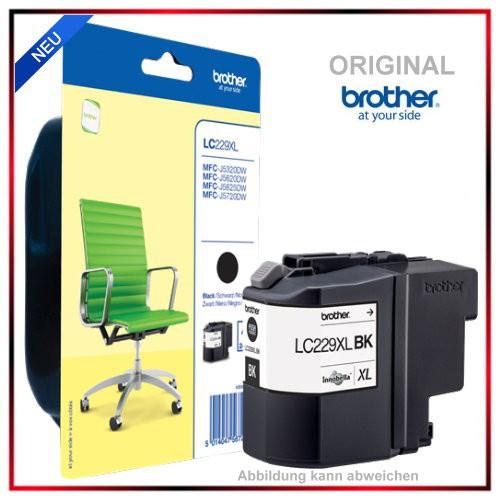 LC229XLBK - LC229-XLBK - LC-229XLBK Original Black Tinte f. Brother - MFC-J 5625 DW - MFC-J 5320 DW