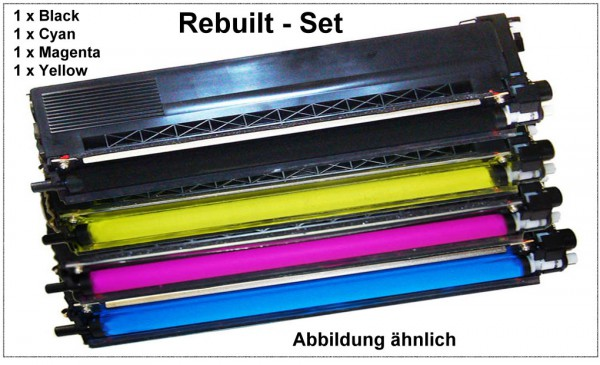 TONTN326 BK,C,M,Y - Alternativ Toner Set Black, Cyan, Magenta, Yellow f. Brother HL-L8000 - 8250CDW