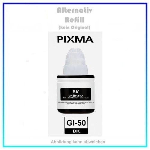 GI-50BK Eco Tank Nachfüllflasche Black für Canon 3386C001,GI-50BK, Inhalt 140ml.