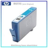 REF920C Refill Tinte Cyan für HP - CD972AE - Inhalt 18ml