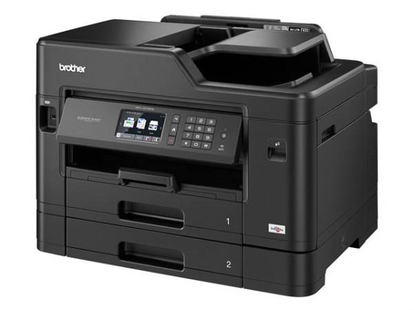 BROTHER MFCJ5730DW, 4IN1, Color Tintendrucker MFCJ5730DWG1, A3, DUPLEX, WLAN, Fax, Multifunktion.