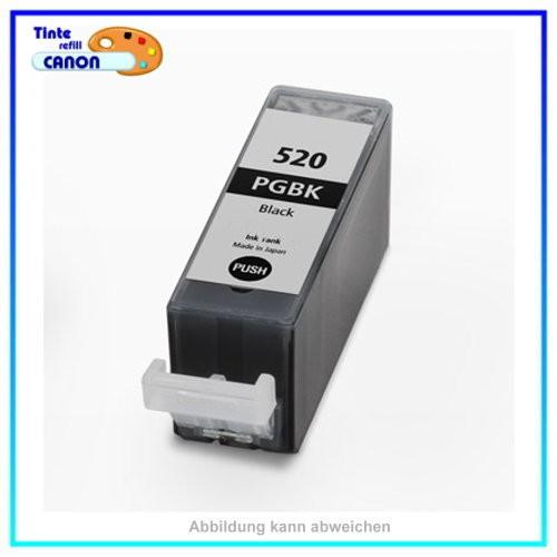 PGI525BK - Alternativ Black Tintenpatrone 20ml mit Chip f. Canon 4529B001 IP 4820 MG6250