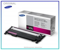 CLP360M - CLT-M406S/ELS - Original Toner Magenta f. Samsung CLP360 - CLP365 - CLX3300, 1000 Seiten