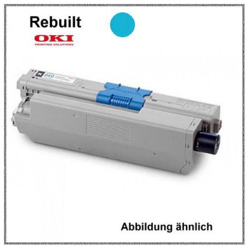 TONC310C - Alternativ Toner Cyan - C310C - für Oki C310 - C330 - C331 - C510 - C511 - C530 - C531 -