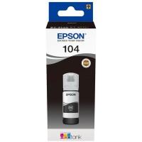 EPSON Ecotank Original Black Tinte 104 - T00P14 - C13T00P140