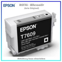 BULK T7609 Alternativ Tintenpatrone Light Black für Epson - C13T76094010 - Inhalt 32ml