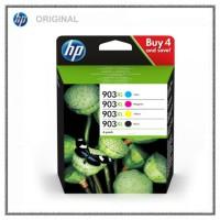 HP Original Tintenpatronen 3HZ51AE-903XL BKCMY - 3HZ51AE, BK=21,5ml+c,m,y=je1x9,5ml