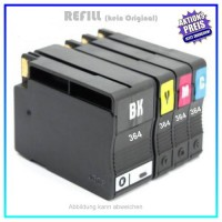 HP-364XL MULTIPACK Tinte (BK+C+M+Y) Alternativ Tinte für HP N9J74AE, HP364 BK=24ml - C,M,Y=15ml