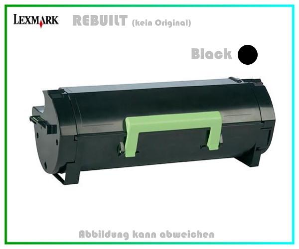 Rebuilt Toner Lexmark MX510DN/511DN/611DE/DN/DTE/DTN,60F2X00,602X,20.000 Seiten