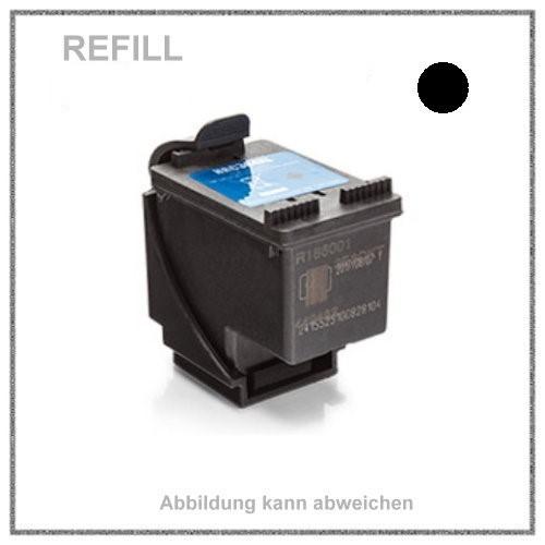 REF304XLBK Refill Tinte Black für HP - N9K08AE -HP-304 - HP304 - Inhalt ca. 18ml.