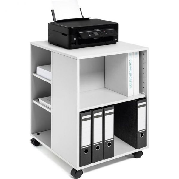 Durable 74/59 3113-10 Bürowagen, Maße: 53 x 75 x 59cm, Farbe: lichtgrau