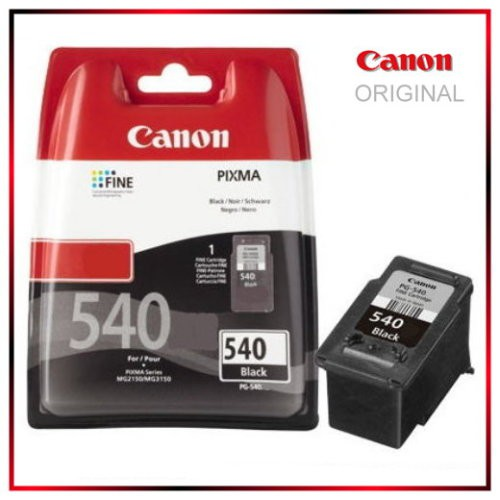 PG540 - 5225B005 - Black - Original Tinte fuer 522B005 Canon Pixma