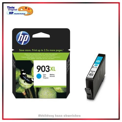 903XL - T6M03AE - Original HP Tintenpatrone Cyan für OJ Pro 6960 - T6L87AE - Inhalt ca. 825 Seiten