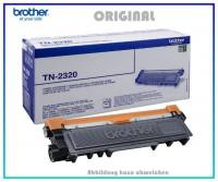 TN2320 - Black Original Toner fuer Brother HL - TN2320 - TN2340 - Inhalt fuer ca. 2.600 Seiten