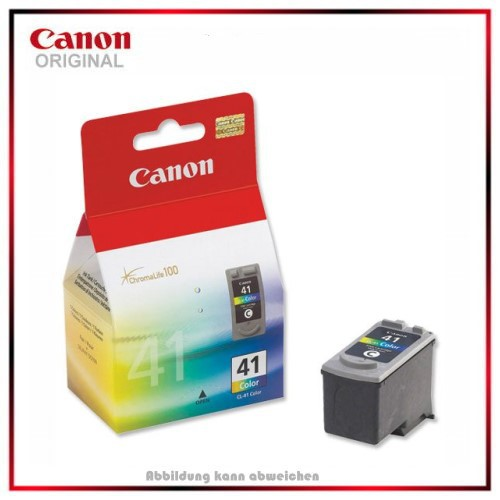 CL41 - 0617B001 - Color Original Tintenpatrone Canon Pixma IP 1600, IP 2200, MP 150, Inhalt 12ml