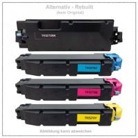 TONTK5270KIT Alternativ Toner Rainbowkit für Kyoce / ~TK-5270BK+C+M+Y/BK=8.000 Seiten/CMY=6.000 Seit