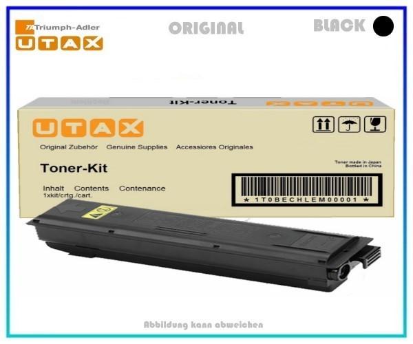 Utax 611811010 schwarz, Original Tonerkartusche, Seitenzahl (bei 5% Deckung): 15.000 Seiten.