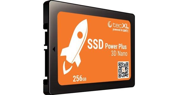 "2.5"" SATA - SSD - tecXL powered by EMTEC XL256, Neuware"