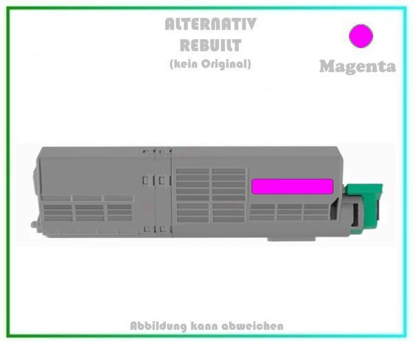 TONC532XXLM Alternativ Toner C532XXL Magenta für Oki - 46490606 - 6.000 Seiten