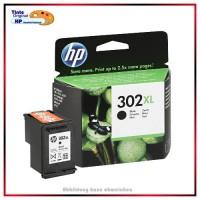Nr.302XLBK, HP-302XL, F6U68AE, Black original Tinte fuer F6U68AE, HP Nr 302XL, Inhalt ca.480 Seiten.