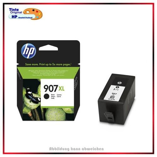 907XL Original Tintenpatrone Black für HP T6M19AE - Officejet PRO 6860, 6900, 6990, 1.500 Seiten