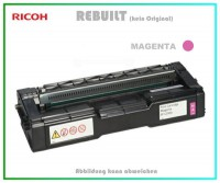 TONSPC250MA Alternativ Tonerkartusche Magenta für Ricoh - 407545 - SPC250MA - Inhalt 1.600 Seiten