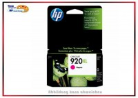 HP-920XLM, CD973AE, Original HP Tintenpatrone Magenta für HP CD973AE - Inhalt 6ml