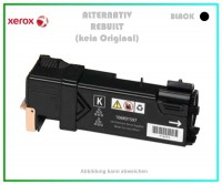 TONPHASER6500BK, Alternativ Toner Black, f. Xerox, 106R01597, Phaser 6500, Phaser 6505, Inhalt 3000