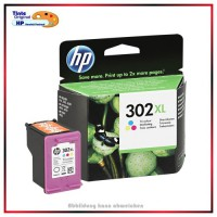 Nr.302XL, HP-302XLC, F6U67AE, Color original Tinte fuer F6U65AE, HP Nr 302CXL, Inhalt ca.330 Seiten.
