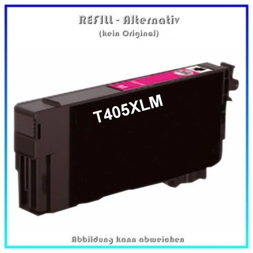 T405XLM Alternativ Seestern Tinte Magenta, T-405XLM, für Epson, C13T05H34010, Inhalt 14,7ml, k.Origi