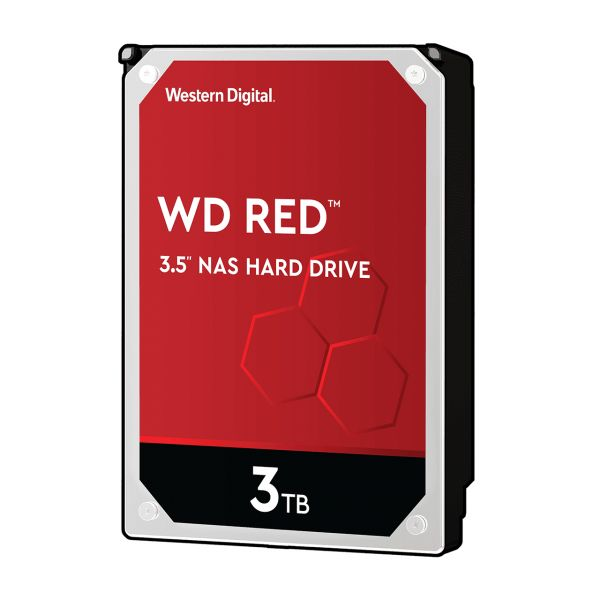 HDD WD Red WD30EFAX 3TB/8,9/600 Sata III 256MB (D) (SMR)