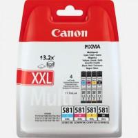 CLI-581XXL - Muiti Pack Original Tintenpatrone BK,C,M,Y für Canon 1998C005 - Inhalt je 11,7ml