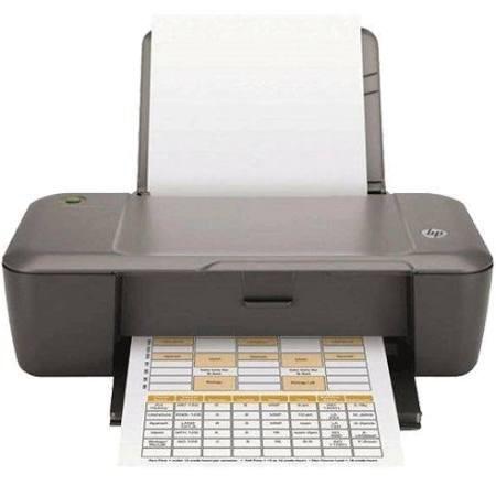 Inkjetdrucker HP DeskJet 1000 Druck / Minute: s/w 7,5, farbig 5,5 Seiten ISO