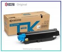 TK5270C, TK5270C, 1T02TVCNL0, Original Toner Cyan, TK-5270C, für Kyocera, C=6.000 Seiten