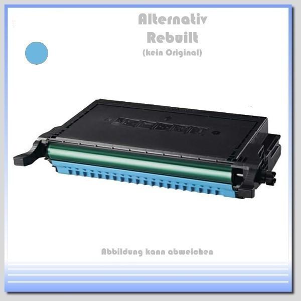 TONCLP660C Alternativ Toner Cyan für Samsung - CLP-C 660 B/ELS-K - Inhalt für 5.000 Seiten